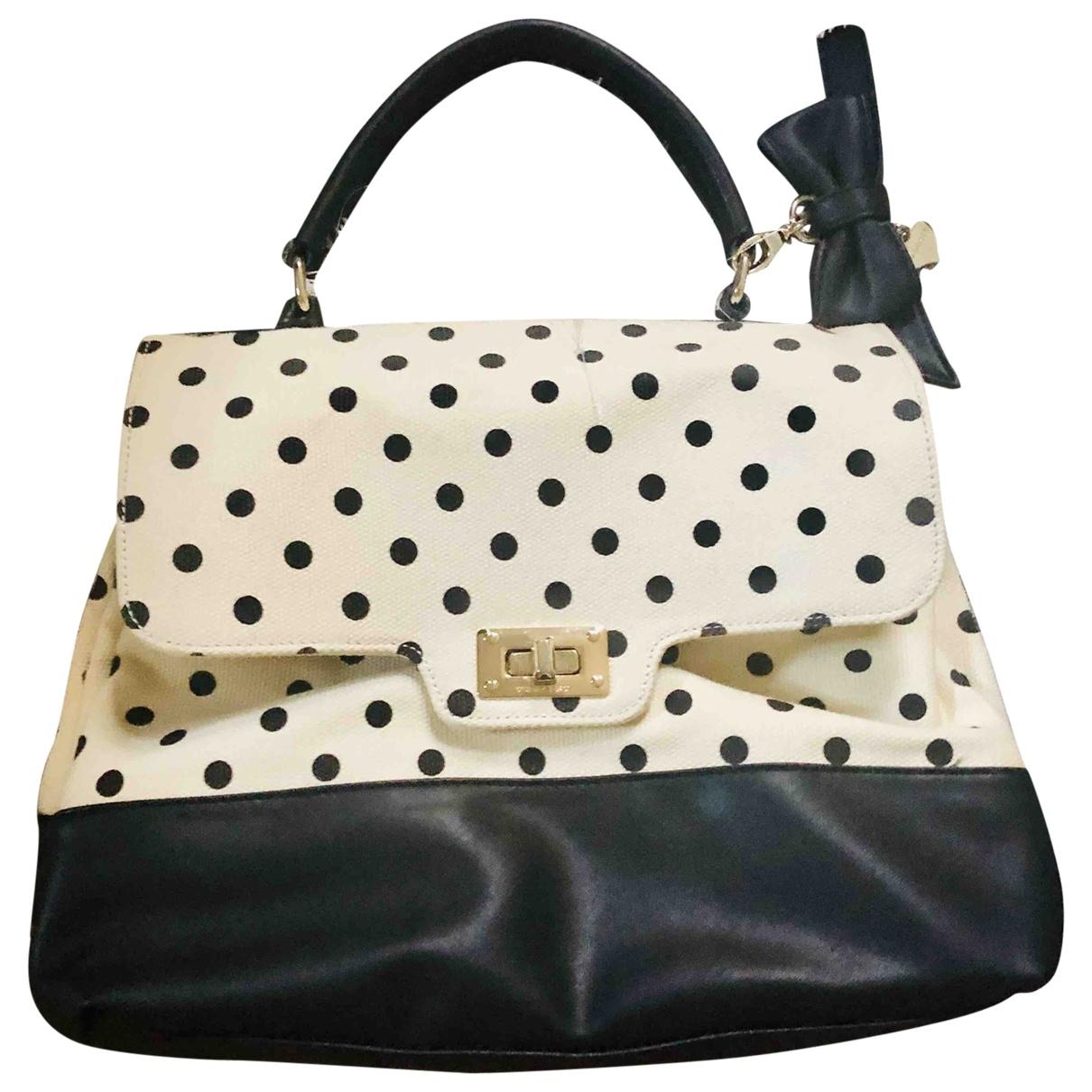 Twin Set \N Handtasche in  Beige Baumwolle