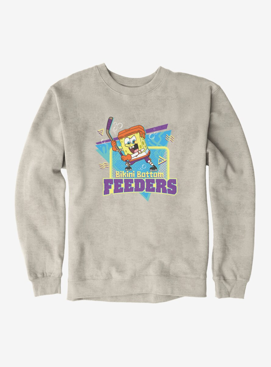 SpongeBob SquarePants Feeders Hockey Goal Sweatshirt