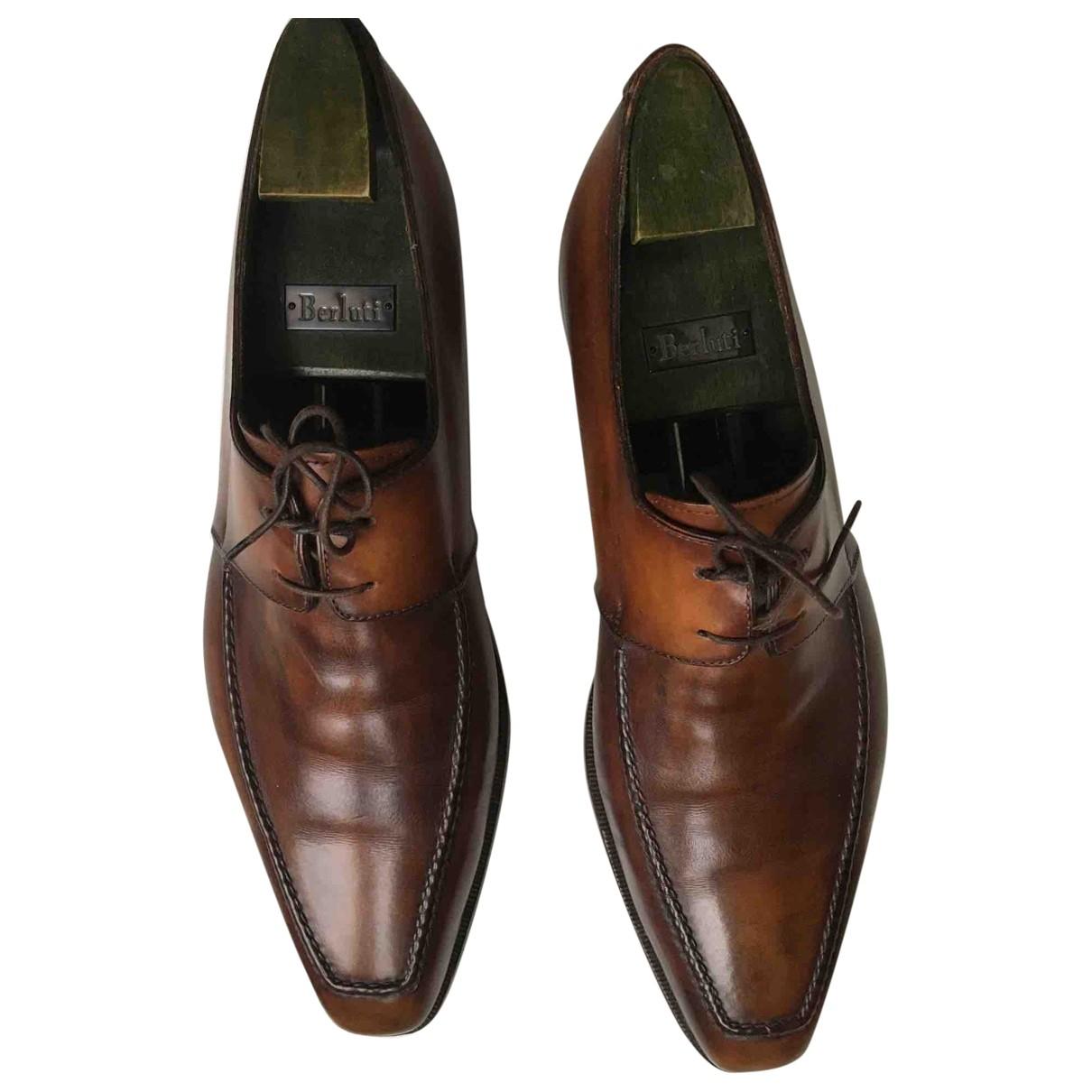 Berluti - Derbies   pour homme en cuir - marron