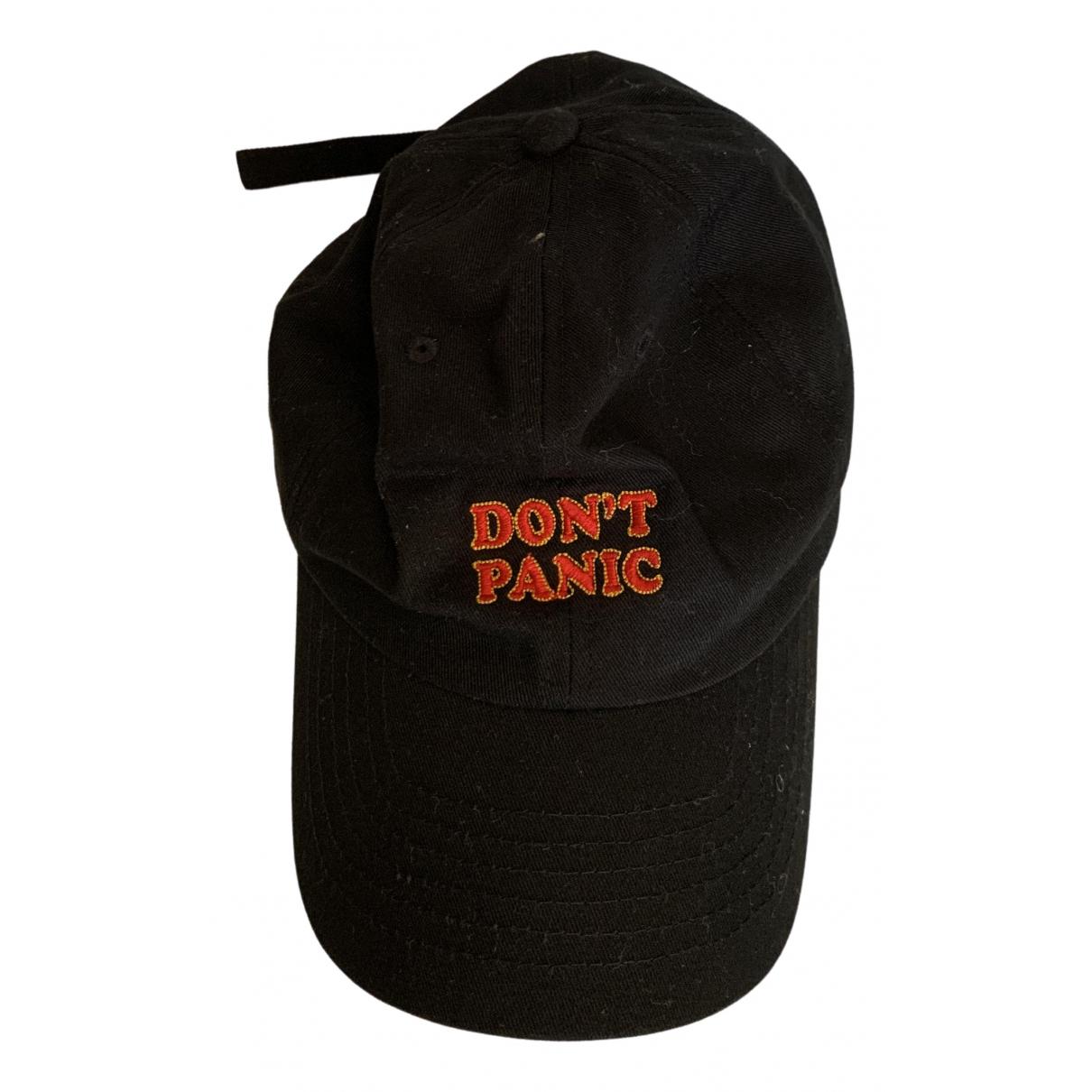 - Chapeau & Bonnets   pour homme en coton - noir