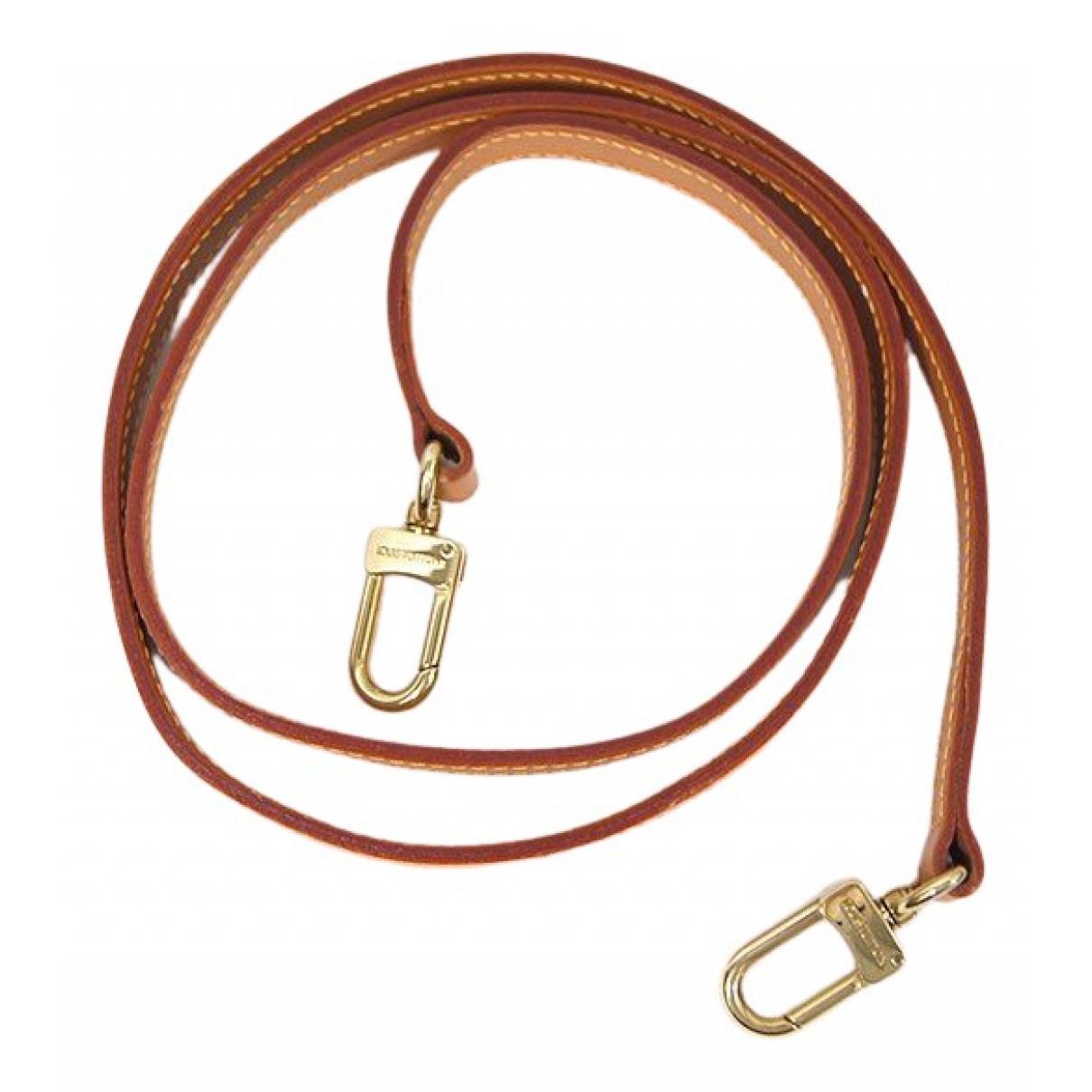Louis Vuitton - Petite maroquinerie   pour femme en cuir - camel