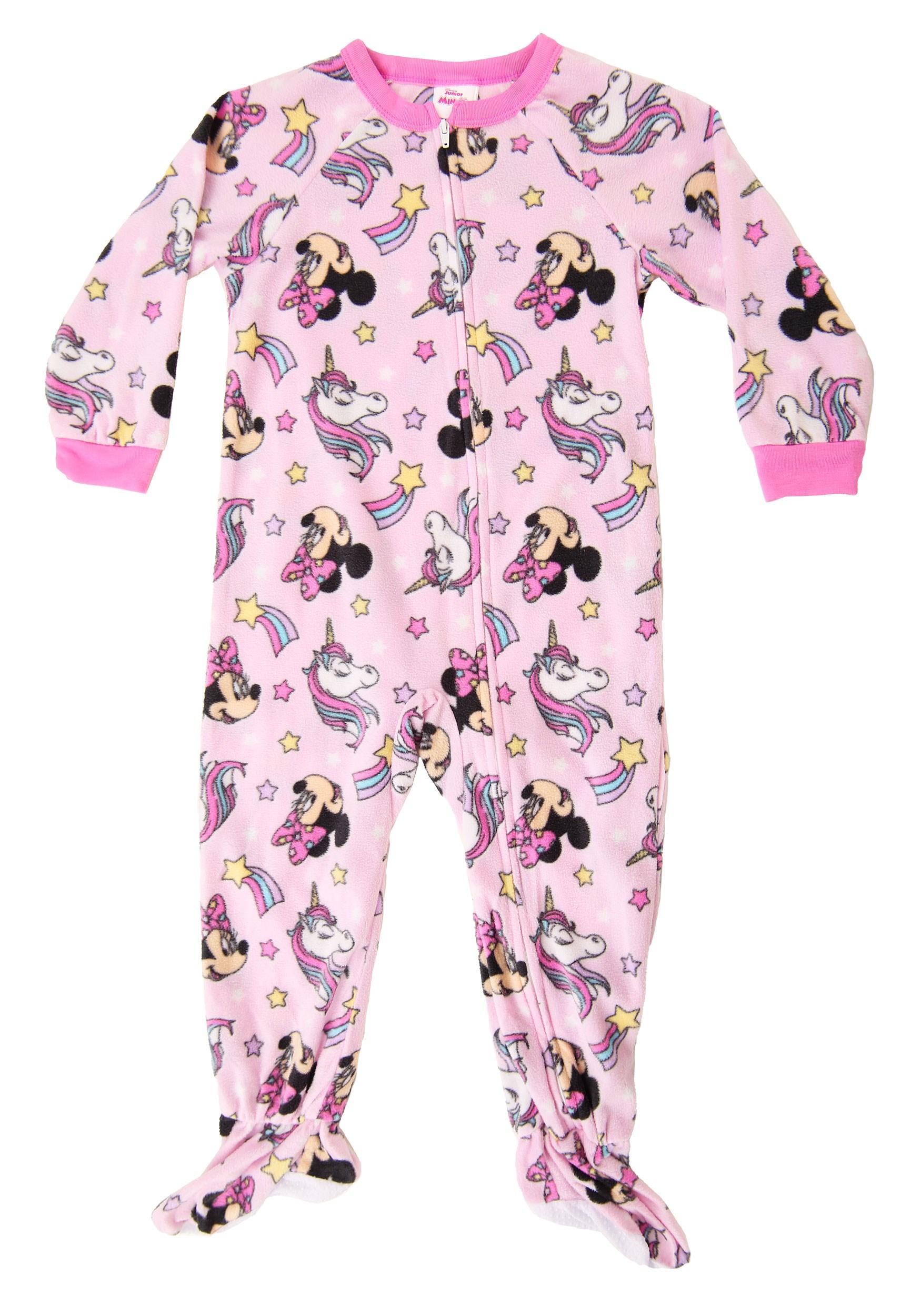 Pink Minnie Unicorn Onesie Toddler