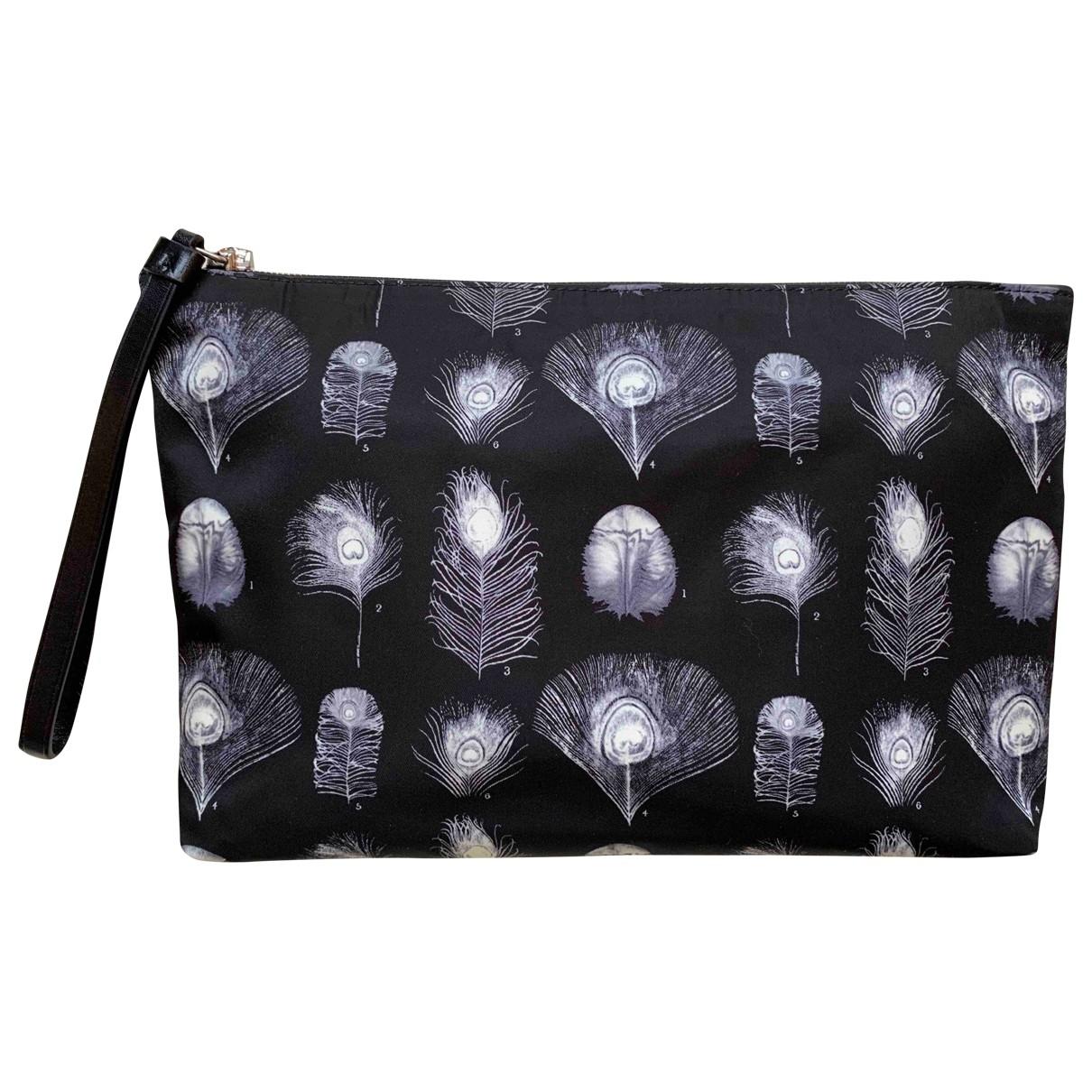 Alexander Mcqueen \N Black Cloth Small bag, wallet & cases for Men \N