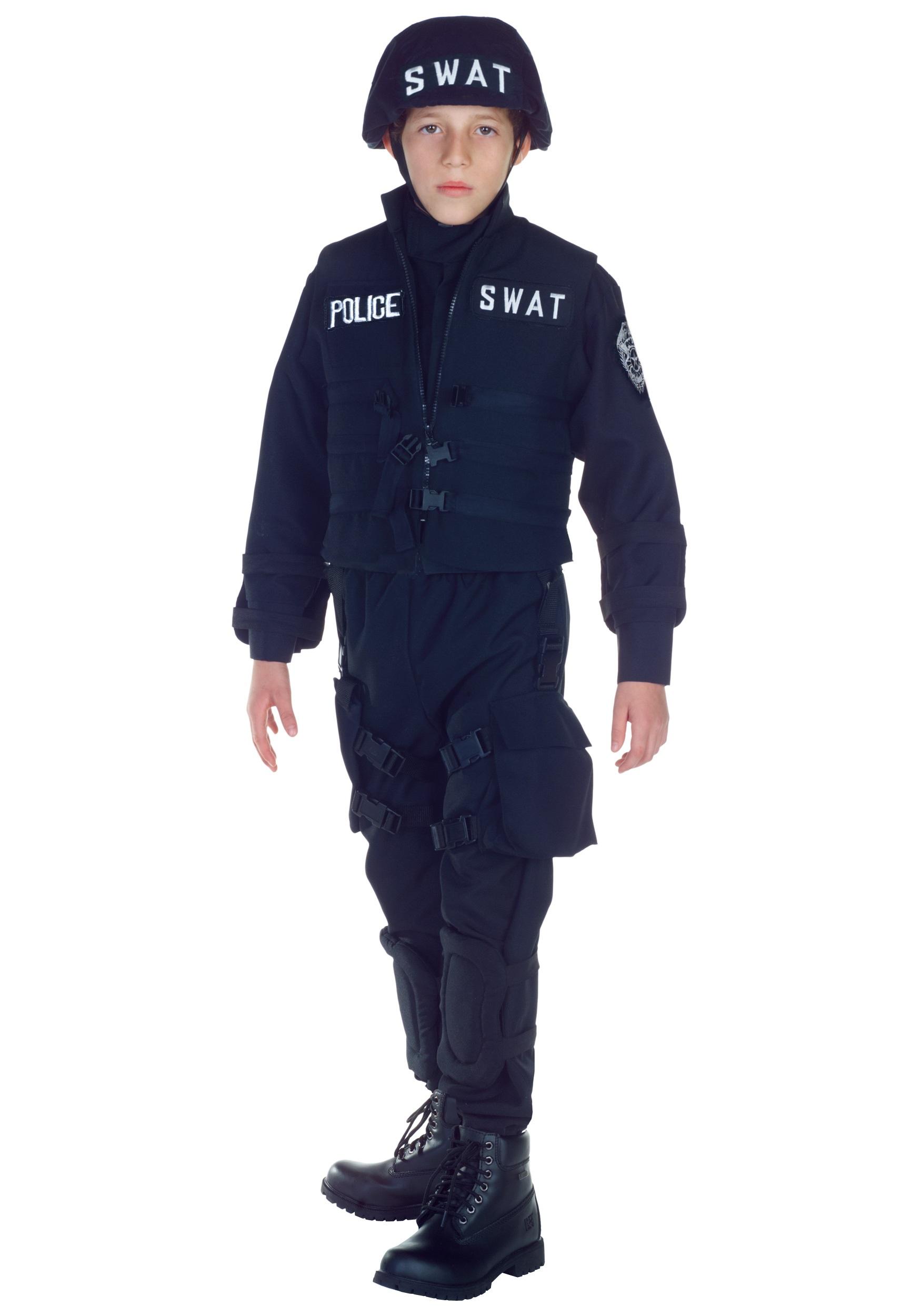 SWAT Team Officer Costume for Kids