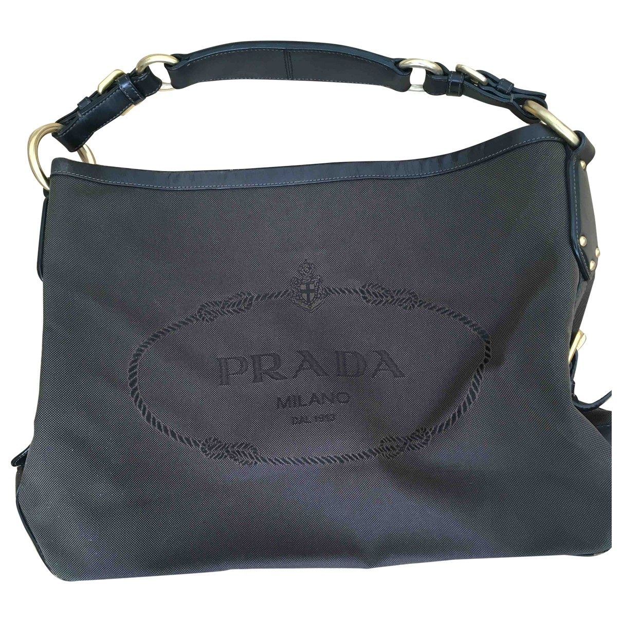 Prada \N Brown Cotton handbag for Women \N