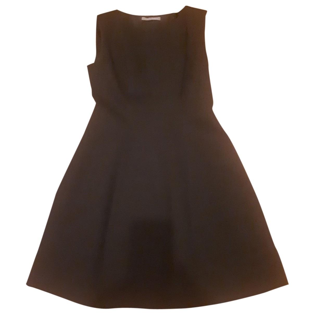 Alberta Ferretti - Robe   pour femme en coton - noir