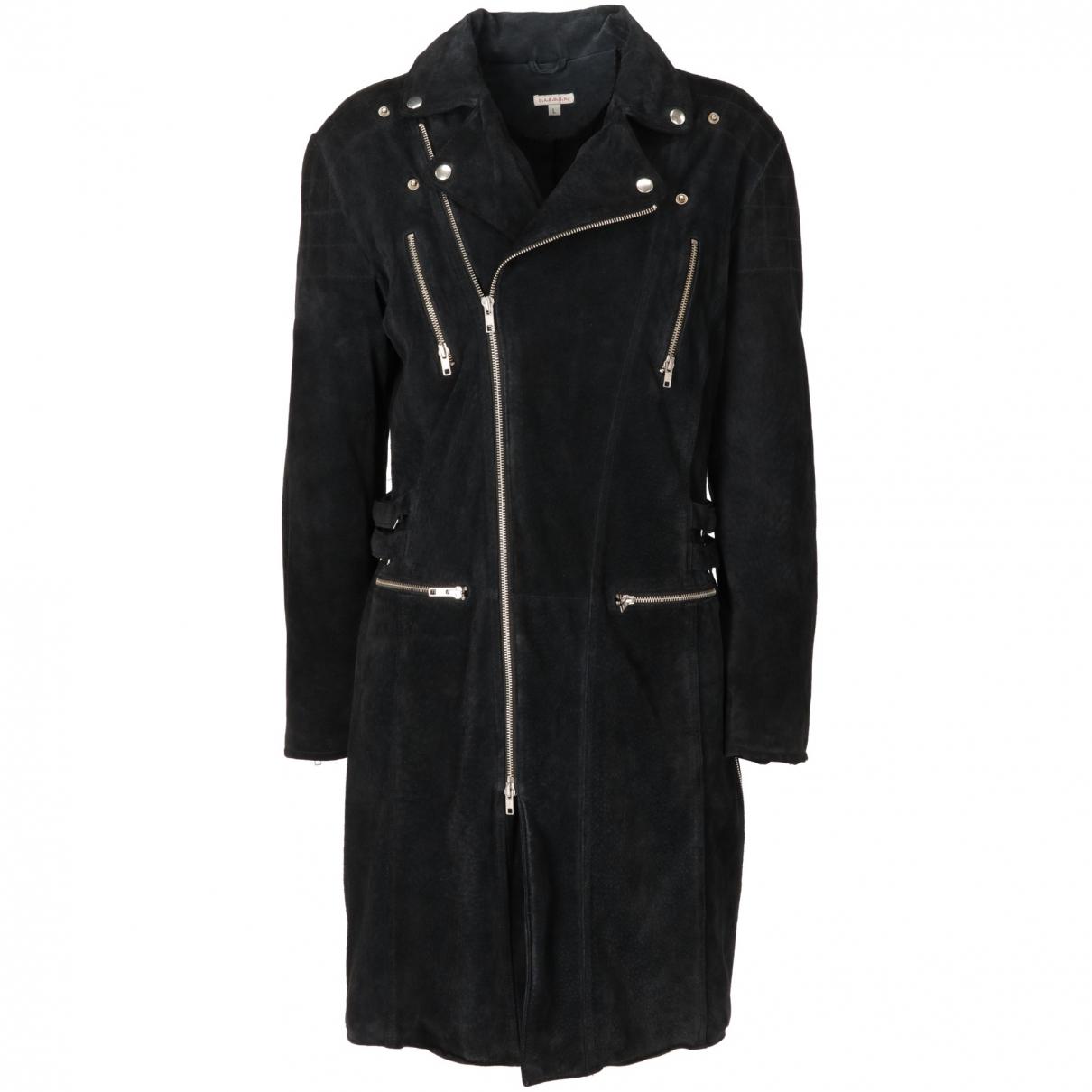 Parosh \N Black Suede coat for Women L International