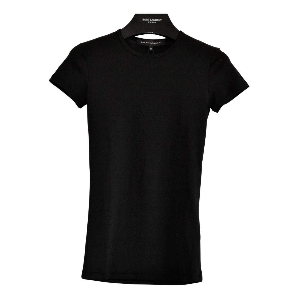 Ralph Lauren Collection - Top   pour femme en coton - noir