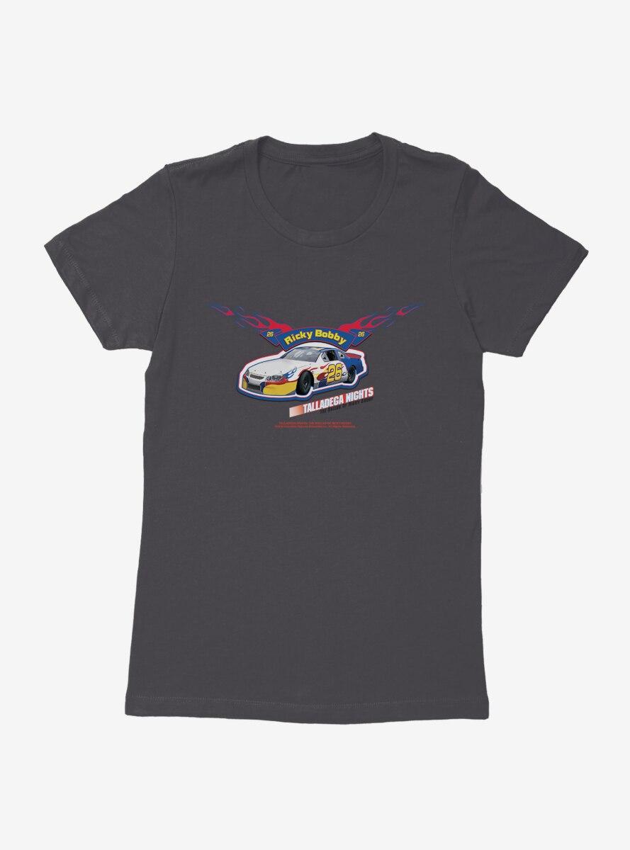 Talladega Nights: The Ballad of Ricky Bobby Race Car Womens T-Shirt