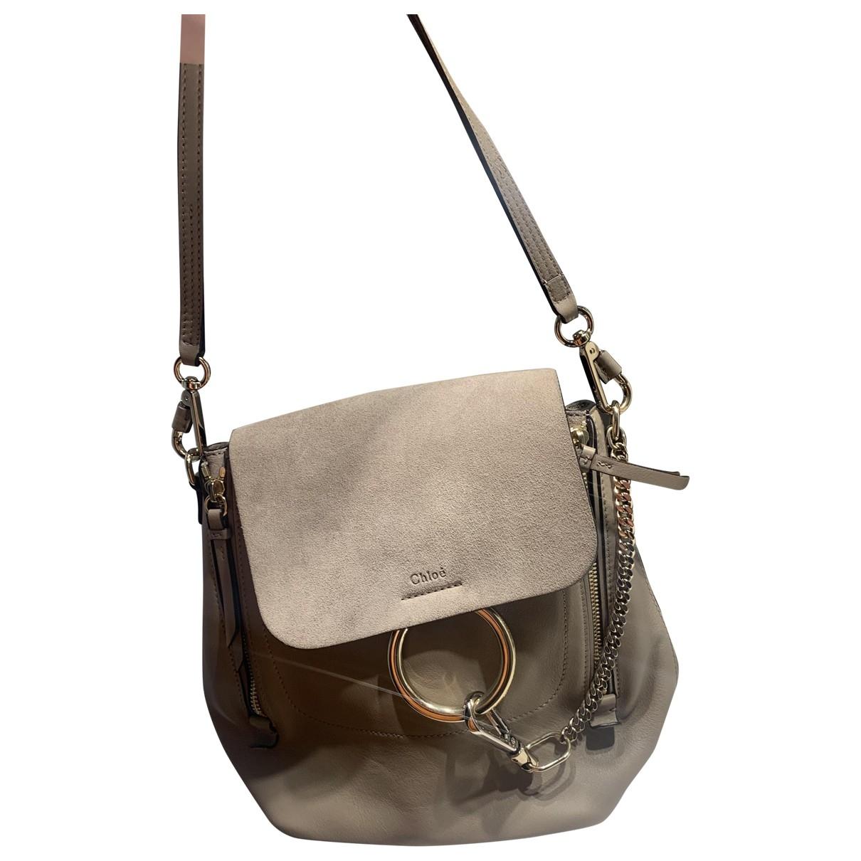 Chloé \N Beige Leather backpack for Women \N