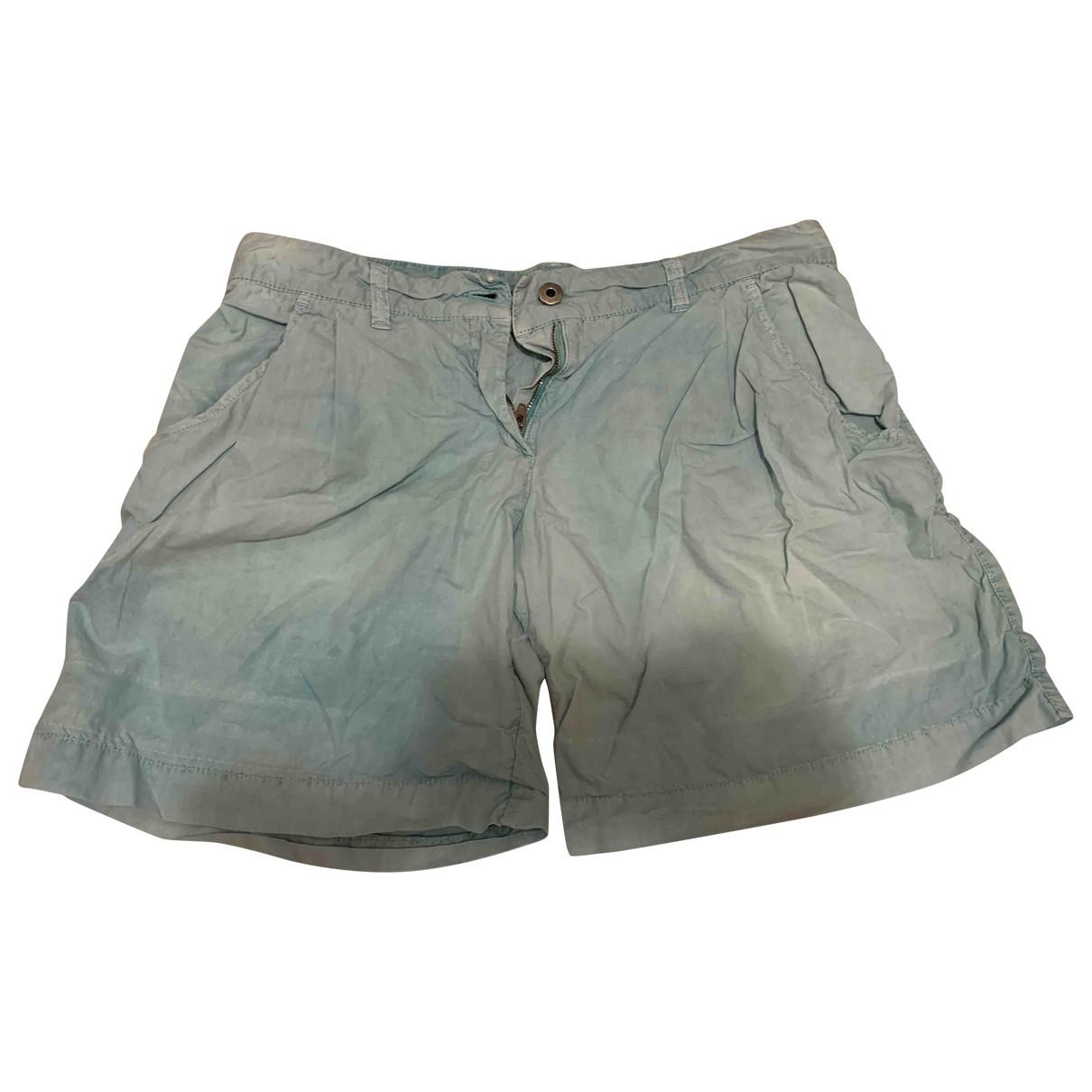 Patrizia Pepe \N Shorts in  Tuerkis Baumwolle