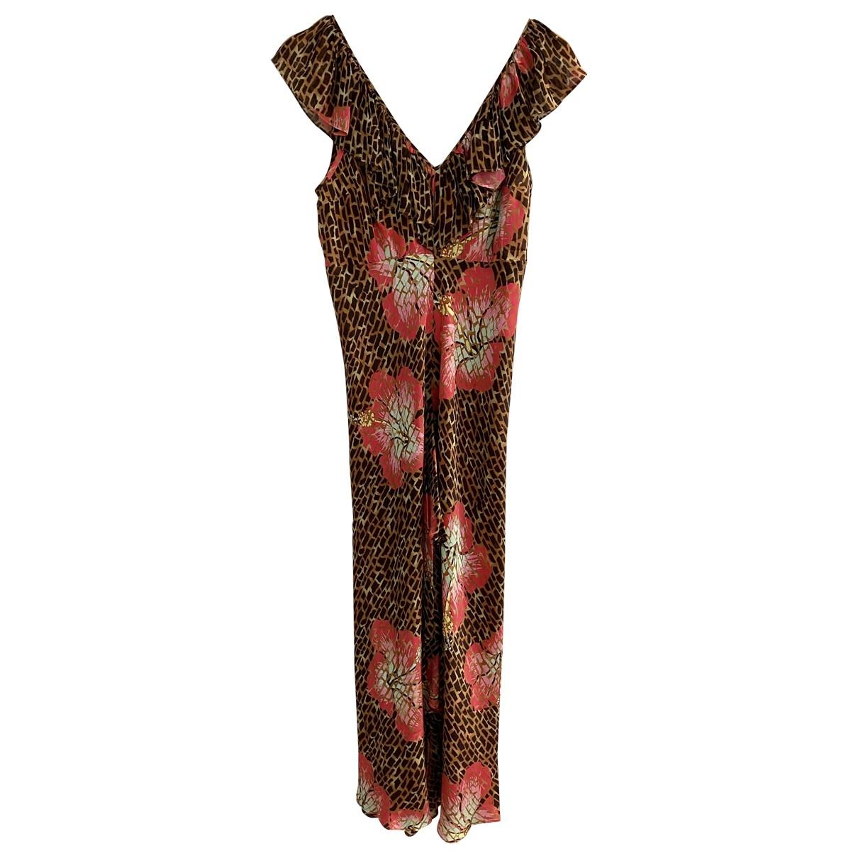 Rixo \N Brown Silk dress for Women M International