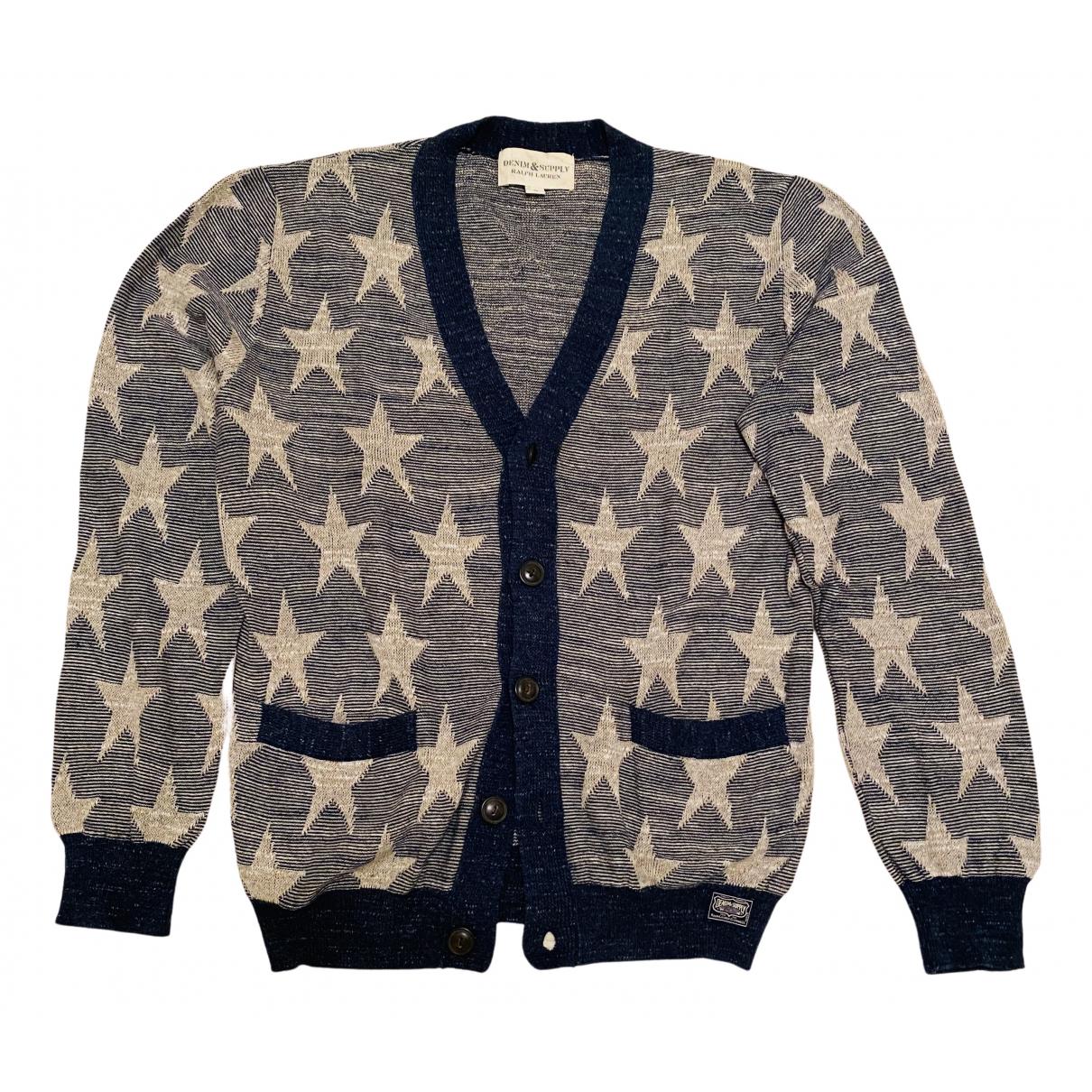 Ralph Lauren Denim & Supply \N Pullover.Westen.Sweatshirts  in  Blau Baumwolle