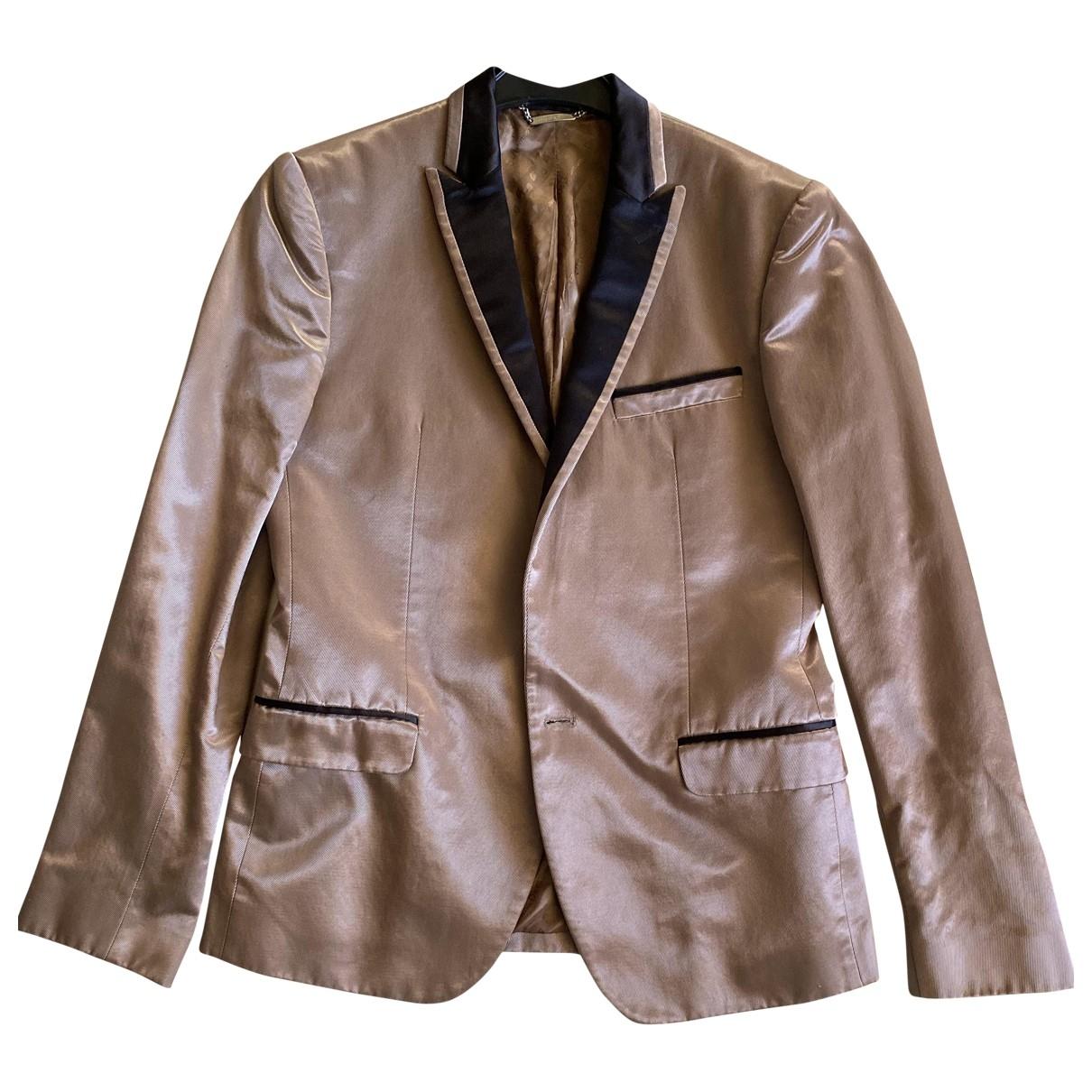 Dolce & Gabbana - Vestes.Blousons   pour homme en soie - dore