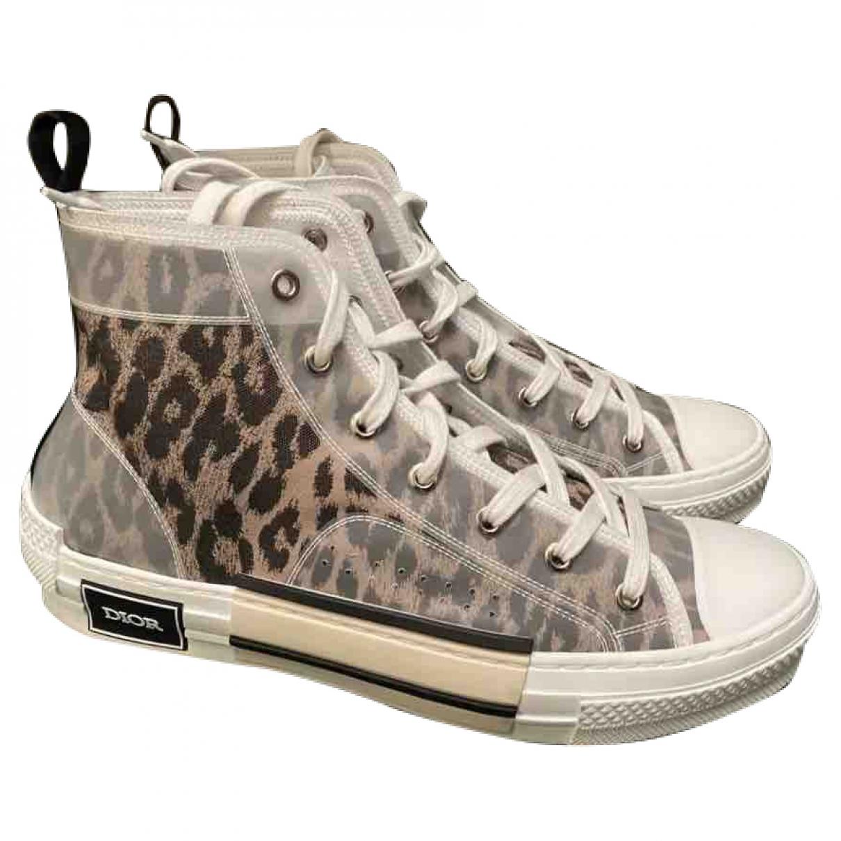Dior Homme \N Sneakers in  Bunt Leinen