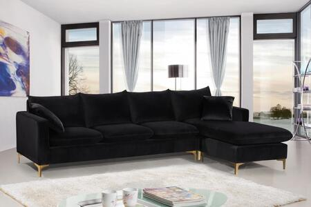 Naomi Collection 636Black-Sectional 110