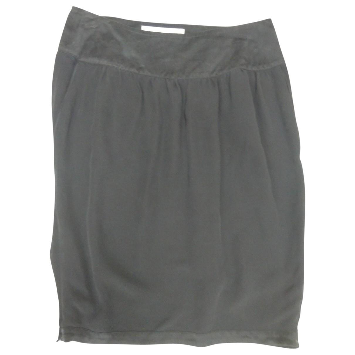 Stella Mccartney For H&m - Jupe   pour femme en soie - noir