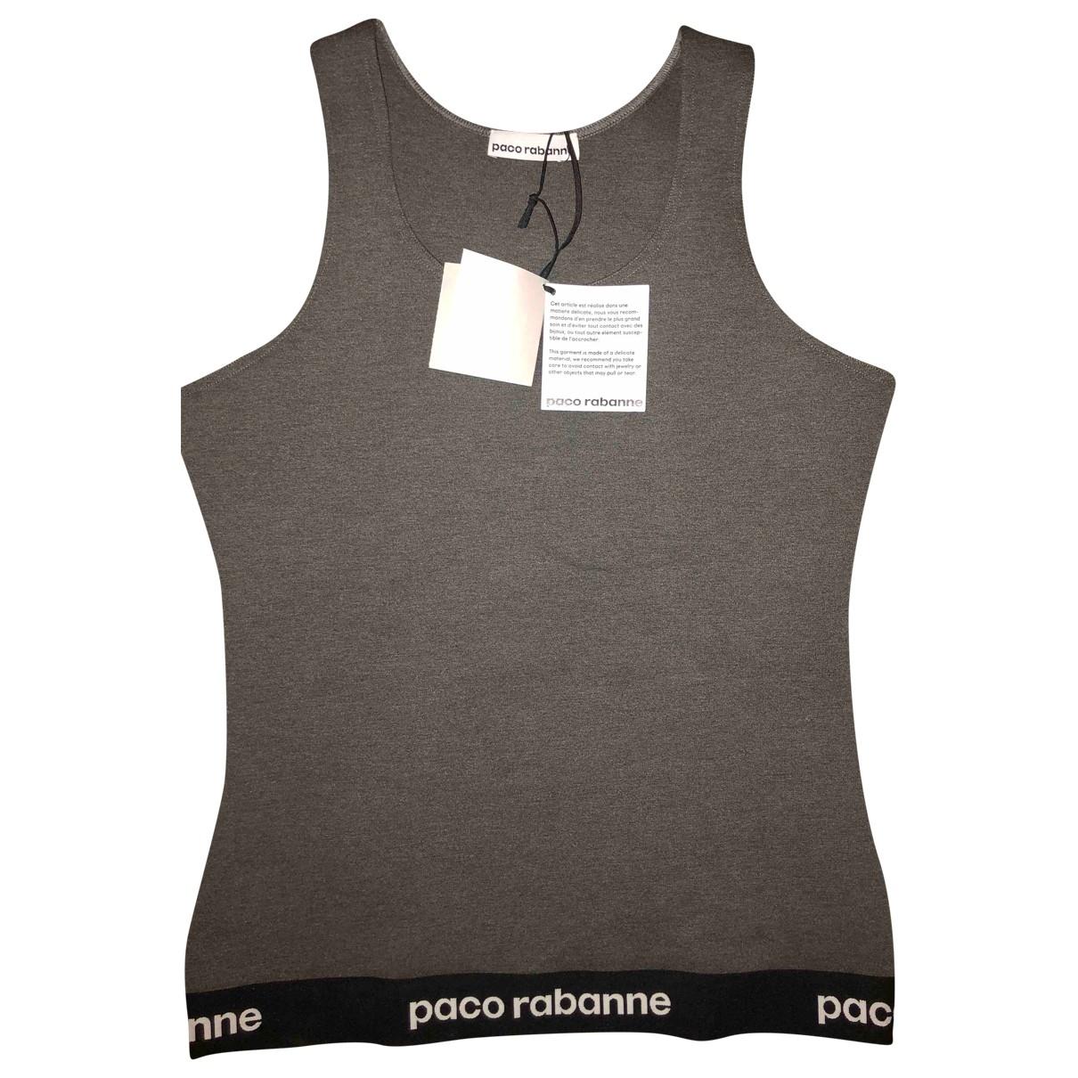 Paco Rabanne - Top   pour femme - gris