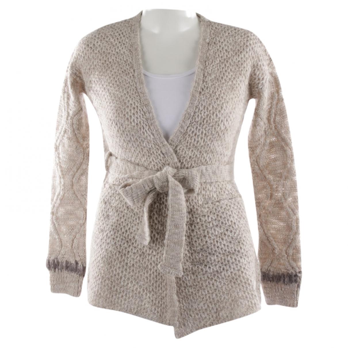 Autre Marque \N Beige Wool Knitwear for Women 34 FR