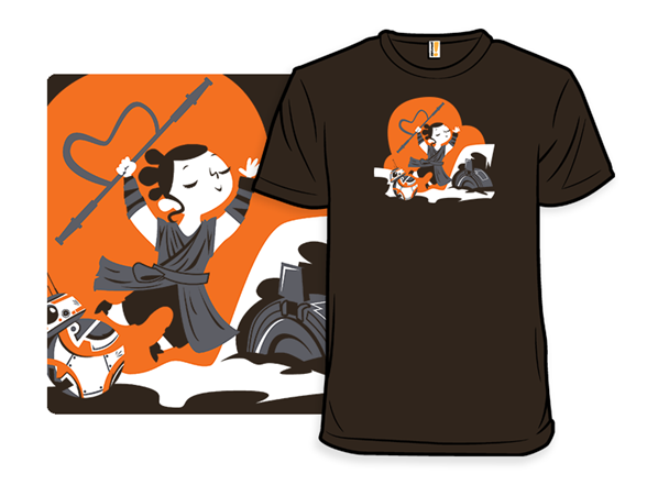 Rey Saves The Day T Shirt