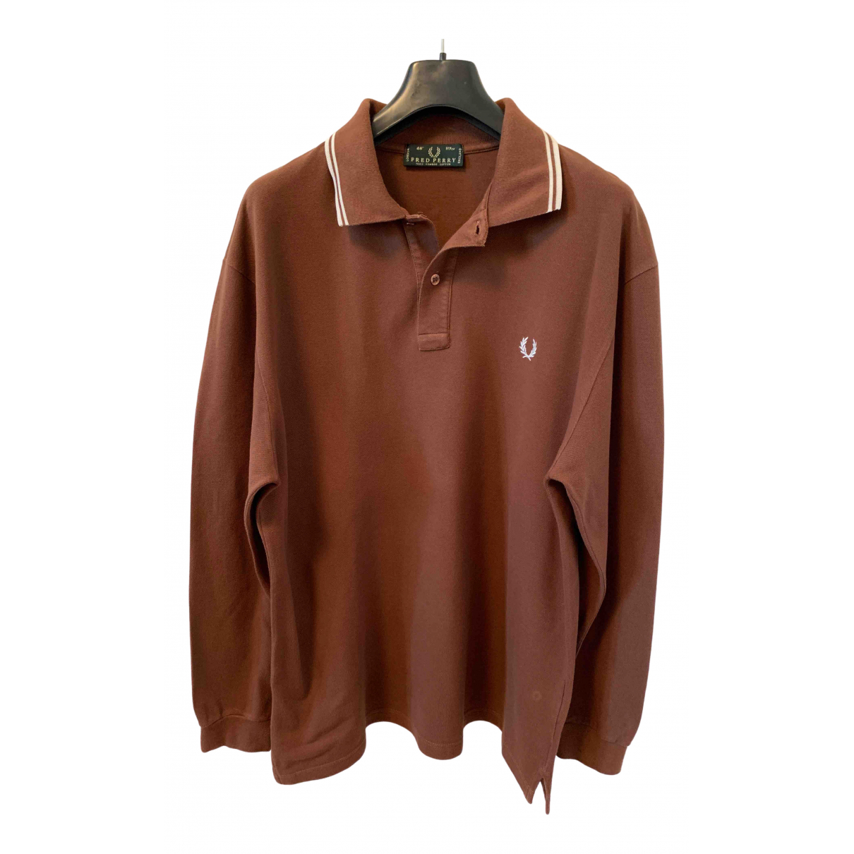 Fred Perry \N Poloshirts in  Braun Baumwolle