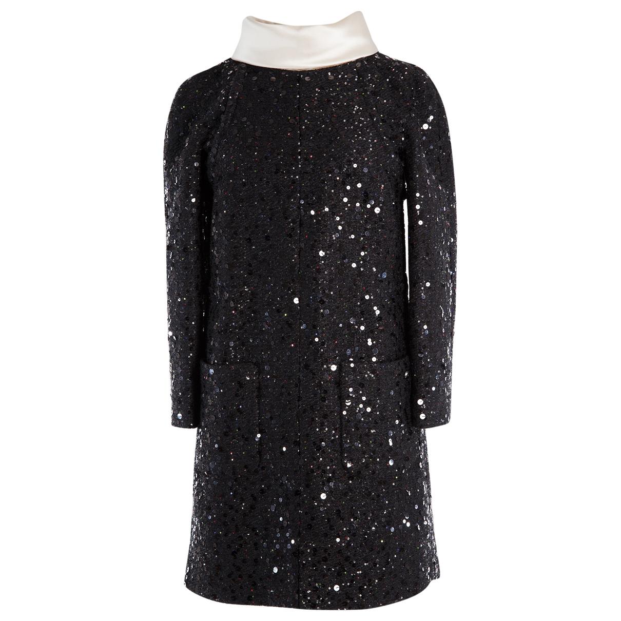 Chanel \N Kleid in  Schwarz Tweed