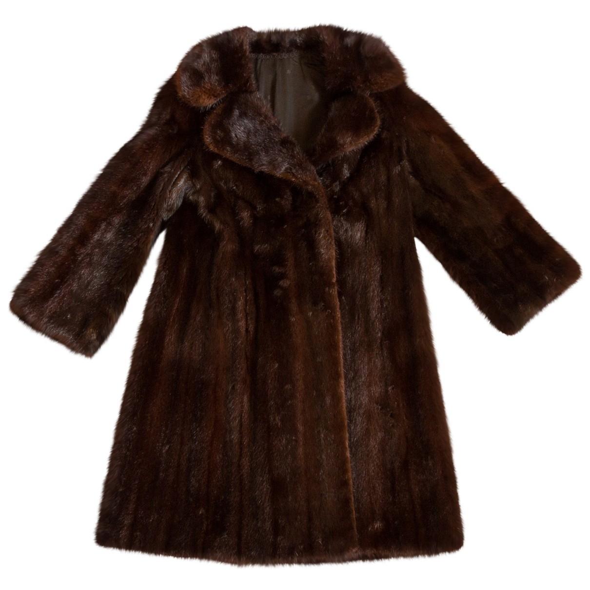 Pellicciai \N Brown Fox coat for Women 40 IT