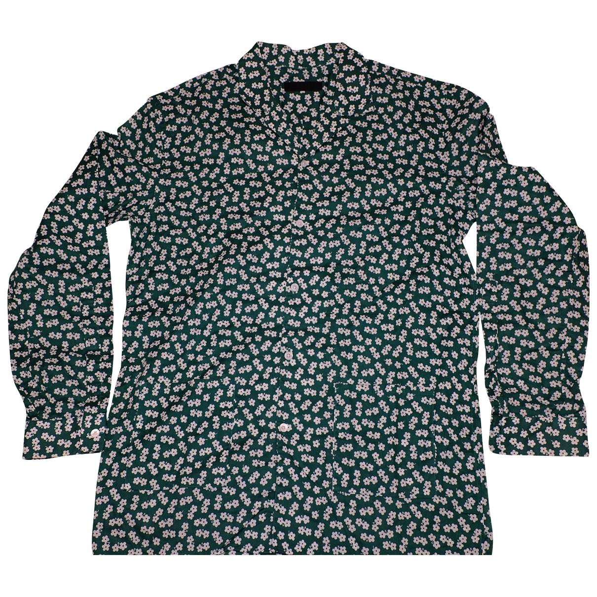 Burberry \N Hemden in  Gruen Baumwolle