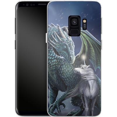 Samsung Galaxy S9 Silikon Handyhuelle - Protector of Magic von Lisa Parker