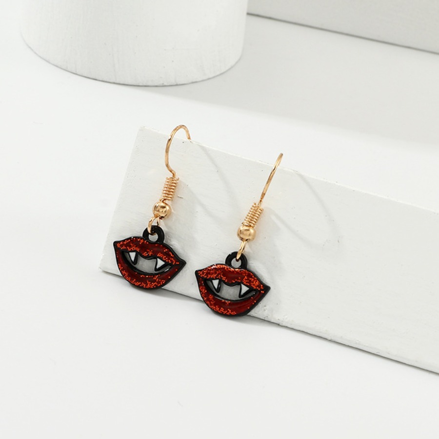 LW lovely Chic Lip Red Earring