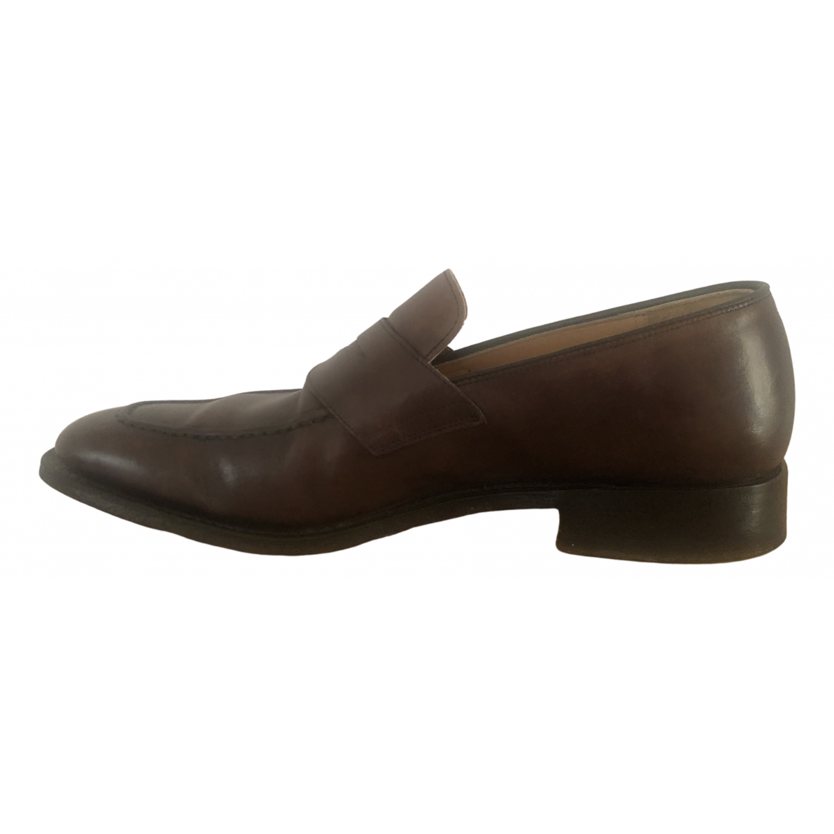 Church's \N Brown Leather Flats for Men 41 EU