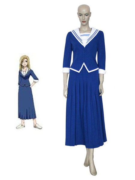 Milanoo Fruits Basket Cosplay Uotani Arisa Cosplay Uniform