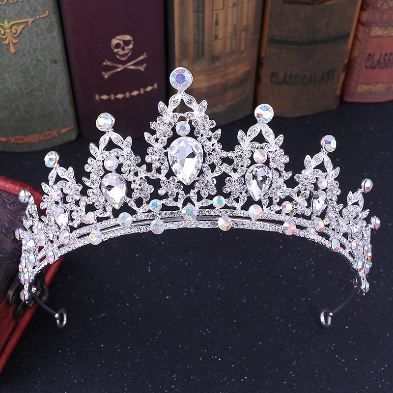 Gemmed Tiara European Hair Accessories (Wedding)