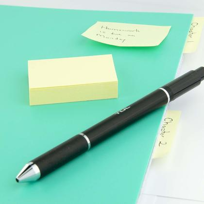 Self-Stick Notes, Yellow, 100 Sheets/Pack - Moustache@