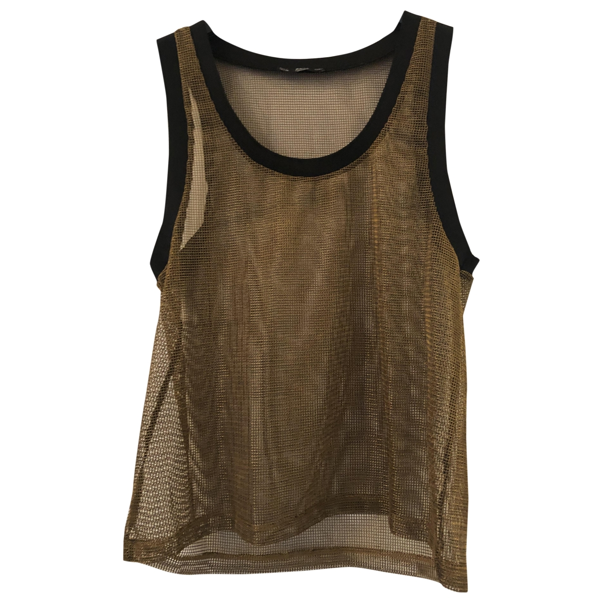 Zara \N Gold  top for Women XS International