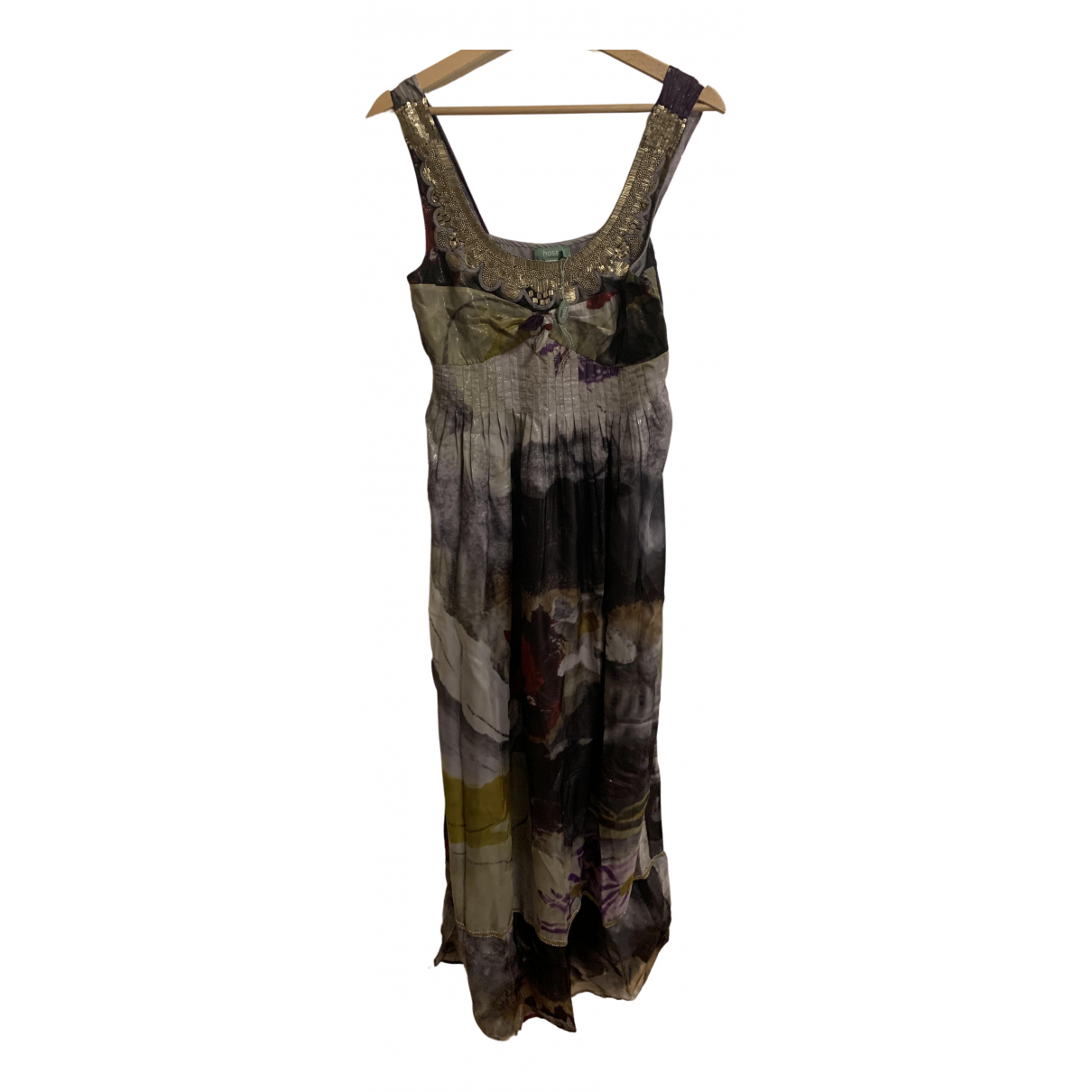Hoss Intropia - Robe   pour femme en soie