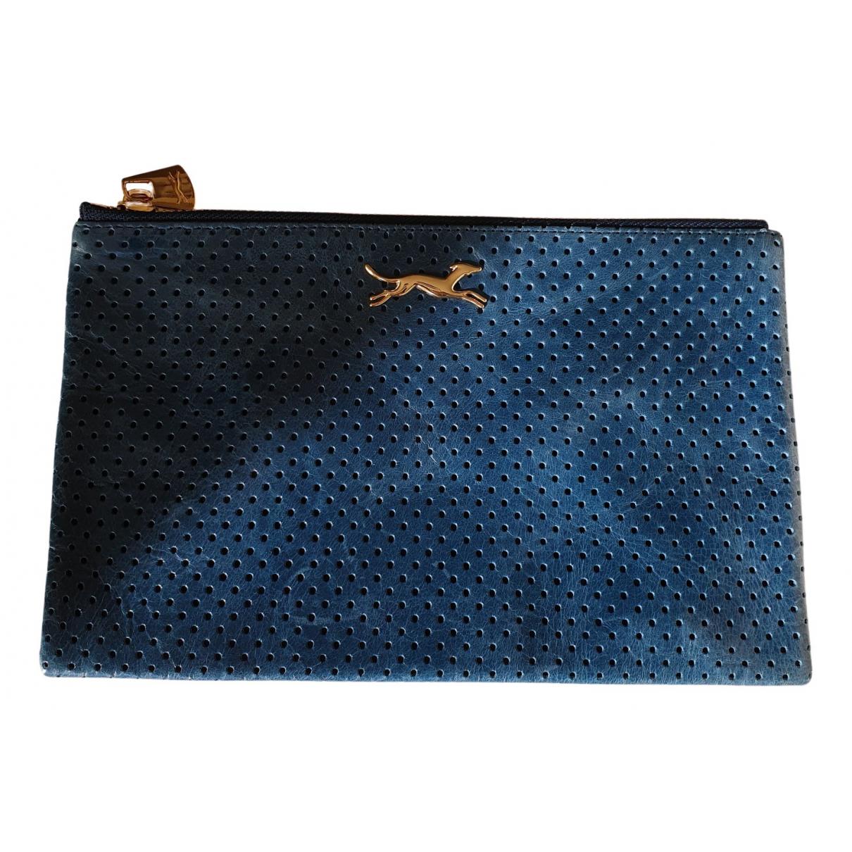 Bimba Y Lola N Blue Fur Clutch bag for Women N