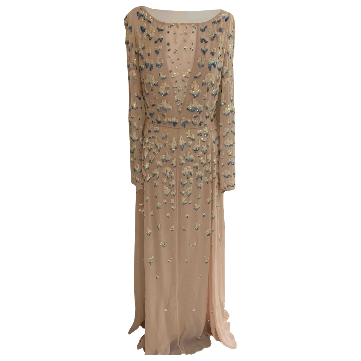 Maxi vestido de Seda Temperley London