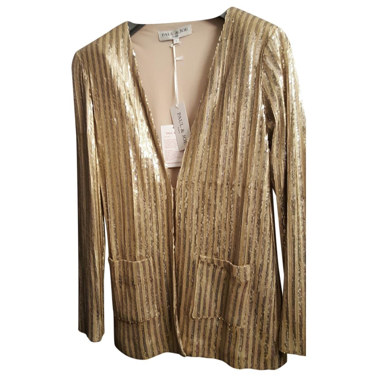 Paul & Joe \N Gold Glitter jacket for Women 38 FR