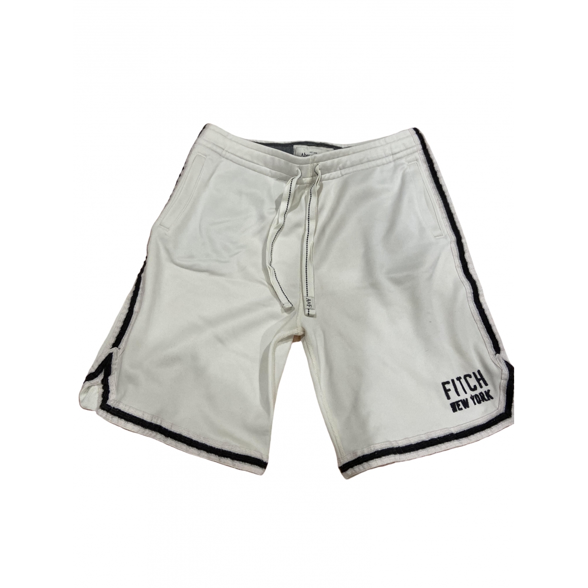 Abercrombie & Fitch \N White Cotton Shorts for Men L International