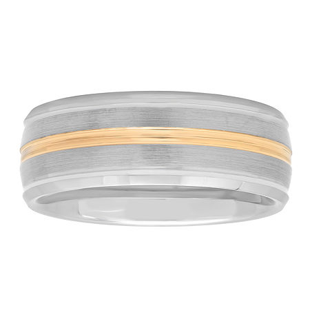 8MM Tungsten Wedding Band, 9 1/2 , No Color Family
