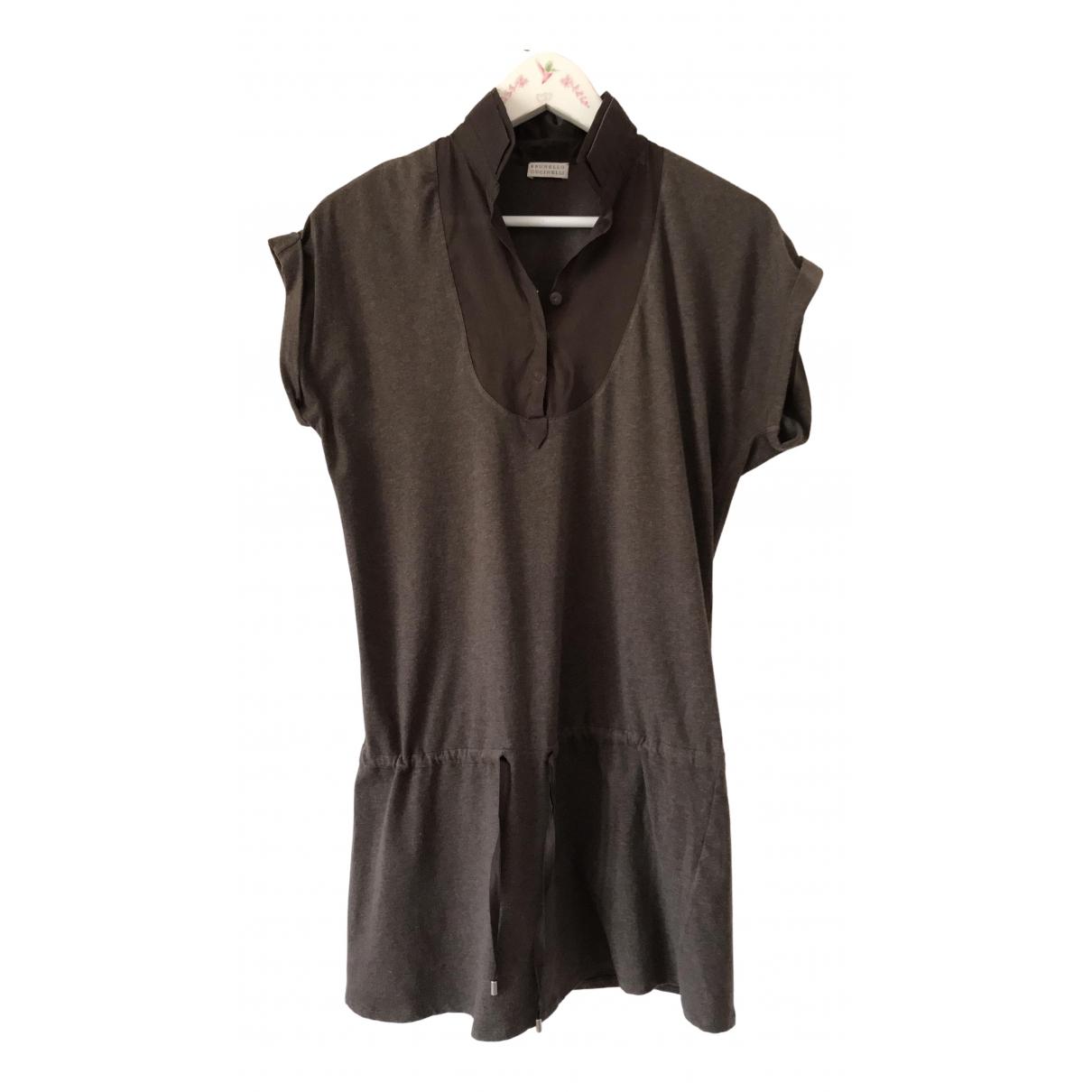 Brunello Cucinelli N Brown Cotton  top for Women L International
