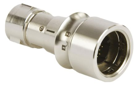 Bulgin Connector, 22 contacts Cable Mount Plug, Crimp, Solder IP66, IP68, IP69K