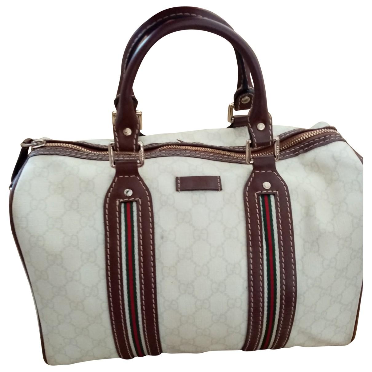 Gucci Boston White Cloth handbag for Women N