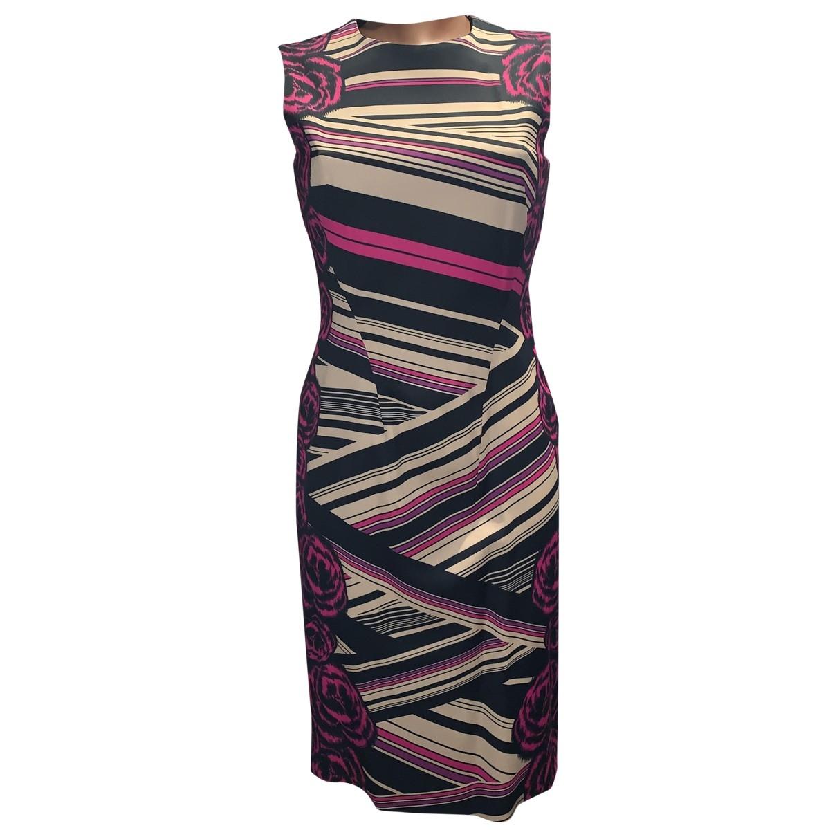 Versace \N Kleid in  Bunt Viskose