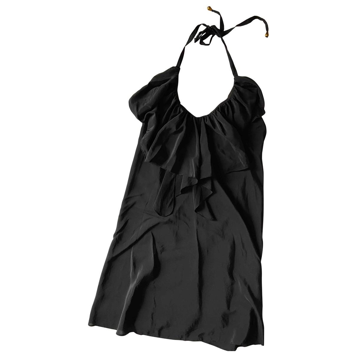 Yumi Kim - Robe   pour femme en soie - noir