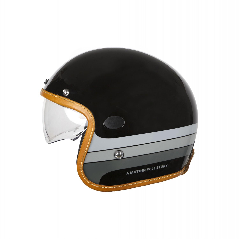 Helstons Mora Carbon Fiber Black Jet Helmet 2XL