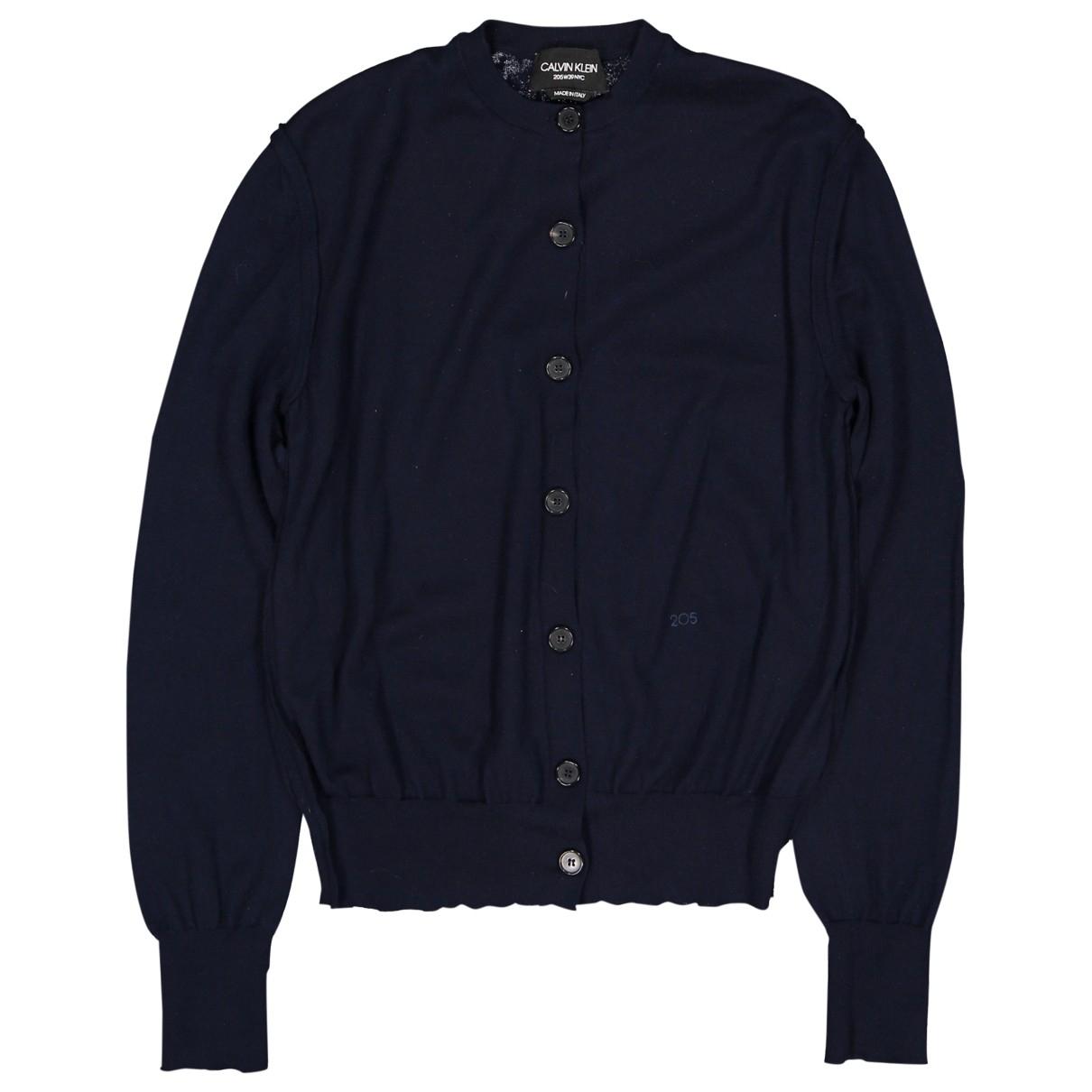 Calvin Klein 205w39nyc \N Pullover in  Marine Kaschmir