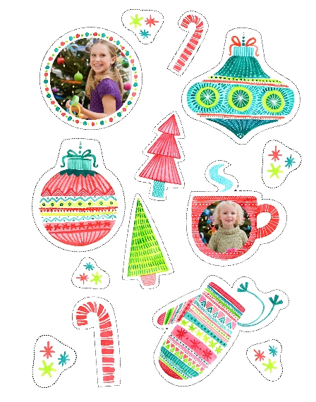 Holiday 11x14 Poster(s), Board, Home Décor -Crafty Christmas