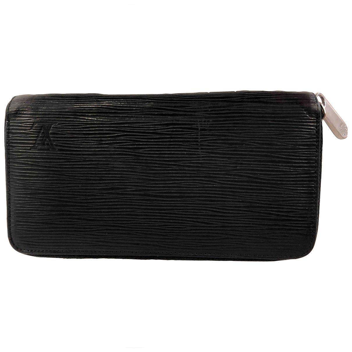 Louis Vuitton Zippy Black Leather wallet for Women N